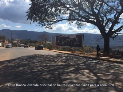 Outdoor Ouro Branco Bairro Belvedere