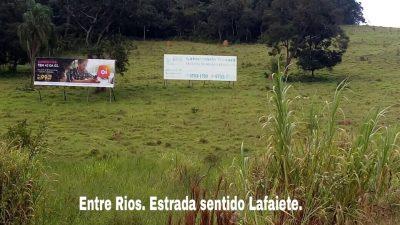 Outdoor Entre Rios Estrada sentido Lafaiete