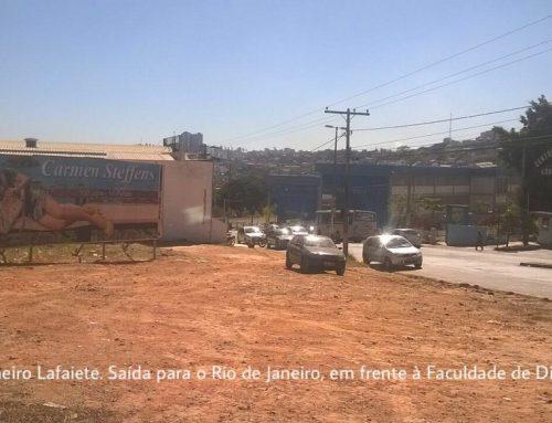 Outdoor Faculdade de Direito FDCL Saída para BR-040