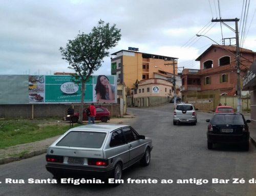 Outdoor Rua Santa Efigênia Bar Zé da Égua